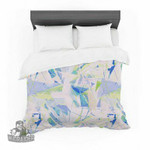 "Alison Coxon ""Shatter Blue"" Featherweight3D Customize Bedding Set/ Duvet Cover Set/  Bedroom Set/ Bedlinen , Comforter Set"