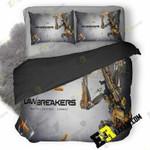 Lawbreakers 2017 Video Game 01 3D Customized Bedding Sets Duvet Cover Set Bedset Bedroom Set Bedlinen , Comforter Set