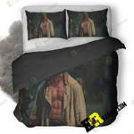 Hellboy Movie 5K Ef 3D Customize Bedding Sets Duvet Cover Bedroom set Bedset Bedlinen , Comforter Set