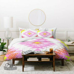 Dash and Ash Chelsea and Coral Duvet Cover , Comforter Set