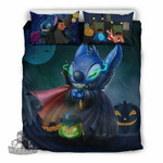 Stitch Halloween Bedding Set 4 , Comforter Set
