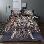 Bohemian  Lotus Bedding Set , Comforter Set