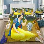 Disney Snow White #43 3D Personalized Customized Bedding Sets Duvet Cover Bedroom Sets Bedset Bedlinen , Comforter Set
