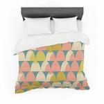 "Michelle Drew ""Scallops"" Pink Teal Featherweight3D Customize Bedding Set Duvet Cover SetBedroom Set Bedlinen , Comforter Set"