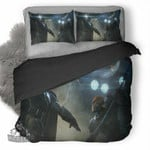 Deathstroke Vs Batman 3D Personalized Customized Bedding Sets Duvet Cover Bedroom Sets Bedset Bedlinen , Comforter Set
