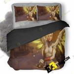 Mercy In Overwatch Game 3D Customized Bedding Sets Duvet Cover Set Bedset Bedroom Set Bedlinen , Comforter Set