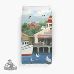 Pelican Bay 3D Personalized Customized Duvet Cover Bedding Sets Bedset Bedroom Set , Comforter Set