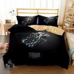 Winter Comingtark 3D Customize Bedding Set/ Duvet Cover Set/  Bedroom Set/ Bedlinen , Comforter Set