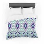 "Pom Graphic Design ""Gems"" Purple Teal Featherweight3D Customize Bedding Set/ Duvet Cover Set/  Bedroom Set/ Bedlinen , Comforter Set"
