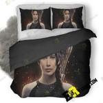 Jennifer Lawrence As Katniss 3D Customize Bedding Sets Duvet Cover Bedroom set Bedset Bedlinen , Comforter Set