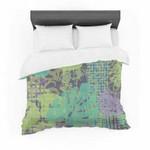"Chickaprint ""Verdure Collage"" Green Teal Featherweight3D Customize Bedding Set Duvet Cover SetBedroom Set Bedlinen , Comforter Set"