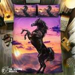 Top Of The World Horse Collection #091913D Customize Bedding Set Duvet Cover SetBedroom Set Bedlinen , Comforter Set