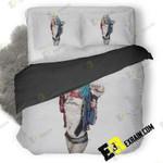 Harley Quinn Costume Hd 3D Customize Bedding Sets Duvet Cover Bedroom set Bedset Bedlinen , Comforter Set