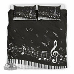 Classic Piano Music Artistic Pod Review3D Customize Bedding Set/ Duvet Cover Set/  Bedroom Set/ Bedlinen , Comforter Set