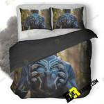 Black Panther Mask Cosplay Va 3D Customize Bedding Sets Duvet Cover Bedroom set Bedset Bedlinen , Comforter Set