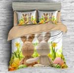 3D Customize Easter Bunny Bedding Set Duvet Cover Set Bedroom Set Bedlinen EXR1511 , Comforter Set