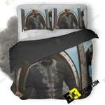 Chadwick Boseman Black Panther 5K Fh 3D Customize Bedding Sets Duvet Cover Bedroom set Bedset Bedlinen , Comforter Set