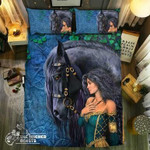 pecial Horse  Collection #353D Customize Bedding Set/ Duvet Cover Set/  Bedroom Set/ Bedlinen , Comforter Set