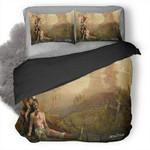 The Witcher 3 Wild Hunt #22 3D Personalized Customized Bedding Sets Duvet Cover Bedroom Sets Bedset Bedlinen , Comforter Set