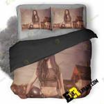 Pubg Girl Cosplay Q0 3D Customized Bedding Sets Duvet Cover Set Bedset Bedroom Set Bedlinen , Comforter Set