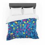 "Frederic LevyHadida ""Color Hiving Blue"" Navy Featherweight3D Customize Bedding Set/ Duvet Cover Set/  Bedroom Set/ Bedlinen , Comforter Set"