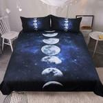 Lunar Phases Bedding Set , Comforter Set