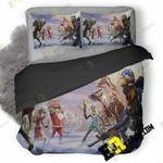 Fortnite Winter Season Nz 3D Customized Bedding Sets Duvet Cover Set Bedset Bedroom Set Bedlinen , Comforter Set