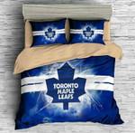 3D Customize Toronto Maple Leafs Bedding Set Duvet Cover Set Bedroom Set Bedlinen 1 , Comforter Set