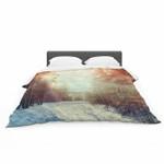 """Snaptudio """"Winter Walkway""""nowy Featherweight3D Customize Bedding Set Duvet Cover SetBedroom Set Bedlinen , Comforter Set"""