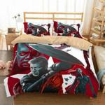 3D Customize Captain America Bedding Set Duvet Cover Set Bedroom Set Bedlinen 2 , Comforter Set