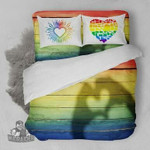 LGBT AMERICAN FLAG A  3D Customized Bedding Sets Duvet Cover Bedlinen Bed set , Comforter Set