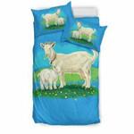 Goats 3D Customize Bedding Set Duvet Cover SetBedroom Set Bedlinen , Comforter Set