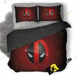 Deadpool Game Logo Wallpaper 3D Customized Bedding Sets Duvet Cover Set Bedset Bedroom Set Bedlinen , Comforter Set