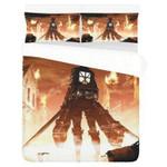 Attack On Titan #1 3D Personalized Customized Bedding Sets Duvet Cover Bedroom Sets Bedset Bedlinen , Comforter Set