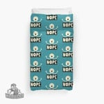 Nope 3D Personalized Customized Duvet Cover Bedding Sets Bedset Bedroom Set , Comforter Set