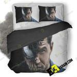 Venom Movie New Poster F4 3D Customize Bedding Sets Duvet Cover Bedroom set Bedset Bedlinen , Comforter Set
