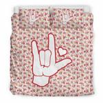I Love You 3D Customize Bedding Set/ Duvet Cover Set/  Bedroom Set/ Bedlinen , Comforter Set