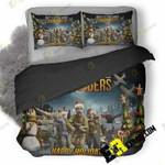 Battle Island Commanders Happy Holidays Oe 3D Customized Bedding Sets Duvet Cover Set Bedset Bedroom Set Bedlinen , Comforter Set