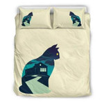 3D Customize Cat And The Mysterious House Bedding Set Duvet Cover EXR1102 , Comforter Set