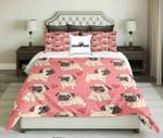 Pug Lovers Design    kings3D Customize Bedding Set/ Duvet Cover Set/  Bedroom Set/ Bedlinen , Comforter Set