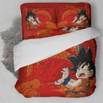 Dragon Ball - Songoku Kid Bedding Set , Comforter Set