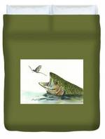 Rainbow Trout 3D Personalized Customized Duvet Cover Bedding Sets Bedset Bedroom Set , Comforter Set