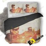 Sicario Day Of The Soldado 4K B5 3D Customize Bedding Sets Duvet Cover Bedroom set Bedset Bedlinen , Comforter Set
