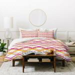 Heather Dutton Intersection Bright Duvet Cover , Comforter Set