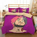 Lil Peep #2 3D Personalized Customized Bedding Sets Duvet Cover Bedroom Sets Bedset Bedlinen , Comforter Set