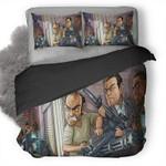 Grand Theft Auto V #40 3D Personalized Customized Bedding Sets Duvet Cover Bedroom Sets Bedset Bedlinen , Comforter Set
