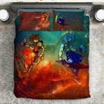 Kingdom Hearts Galaxy3D Customize Bedding Set/ Duvet Cover Set/  Bedroom Set/ Bedlinen , Comforter Set