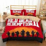 3D CUSTOMIZE RED DEAD REDEMPTION 2  3D Customized Bedding Sets Duvet Cover Bedlinen Bed set , Comforter Set
