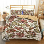 Home Supplies Bedroom Bohemian Theme Print Set 3 Piece Bedding Various Sizes Full Size EXR6355 , Comforter Set
