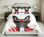 CoolFrench BuldogDesign  kings3D Customize Bedding Set Duvet Cover SetBedroom Set Bedlinen , Comforter Set
